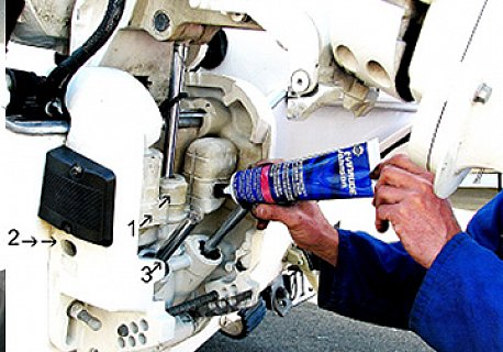 Engine maintenance outboard coastguard boating education for Outboard motor repair training online